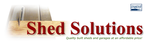 Quality built sheds and garages in Maine!